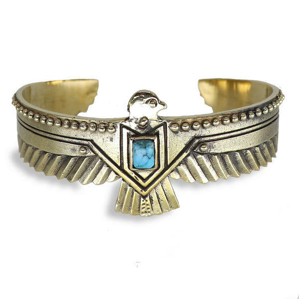 Eagle Cuff German Brass