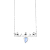 Pallas Athene Silver Moonstone Necklace