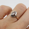 Hexagonal grey diamond