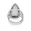 Queen of Spades Moonstone Ring