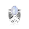 Double moonstone stack