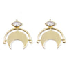 New Moon Gold Studs