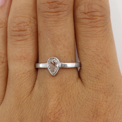 champagne diamond white gold