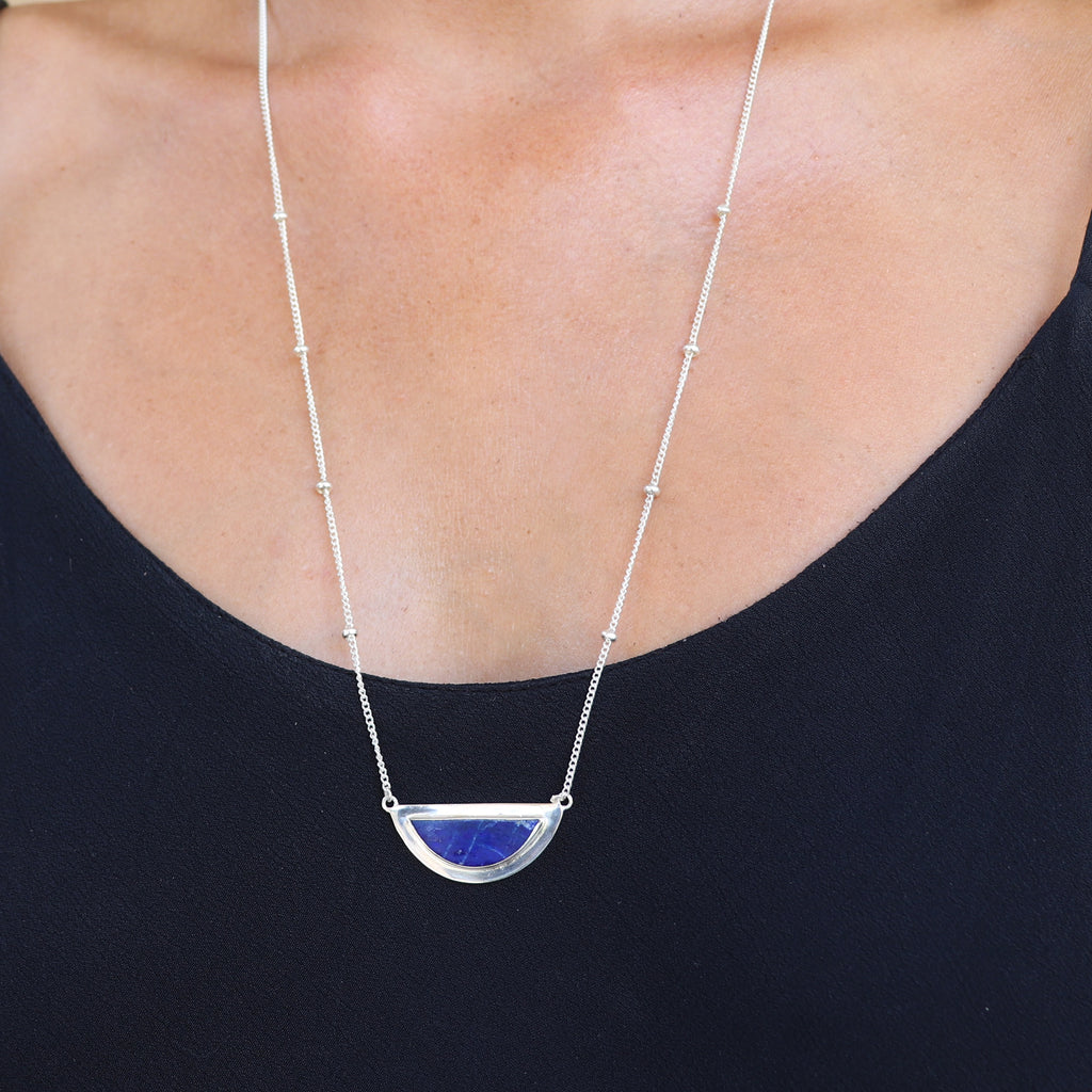 Silver Horizon Necklace
