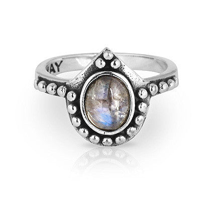 Solace Moonstone Ring
