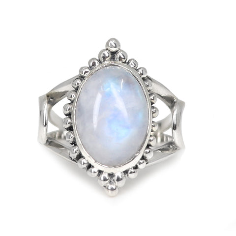 The Rising Moonstone Ring