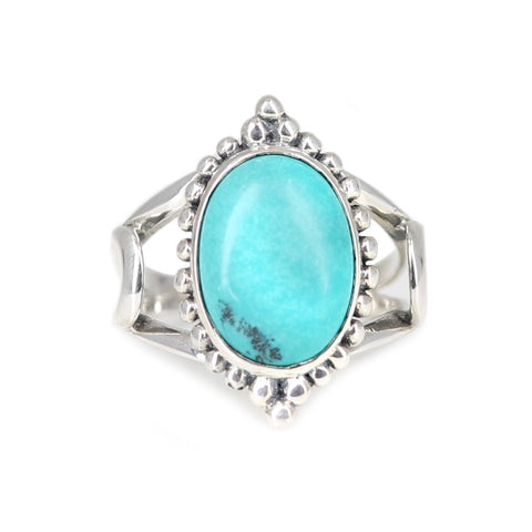 The Rising Ring Turquoise