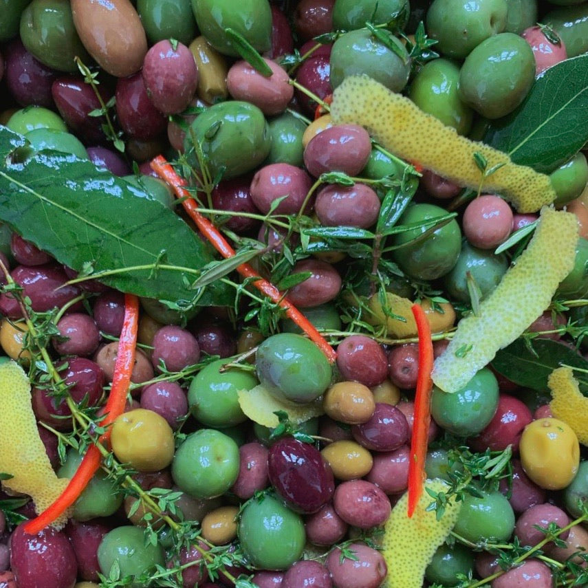 dry store | local olives