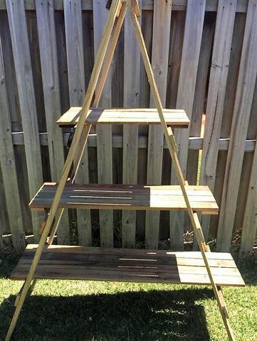 Rustic Large A frame Shelf