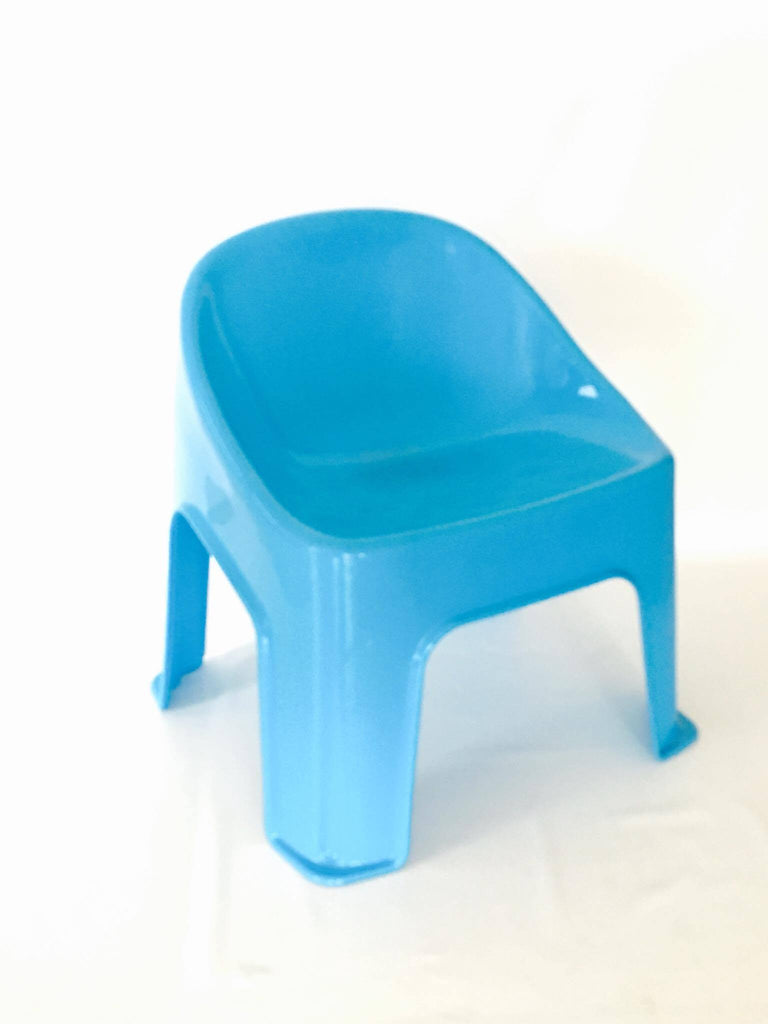 Blue Bubble Chair