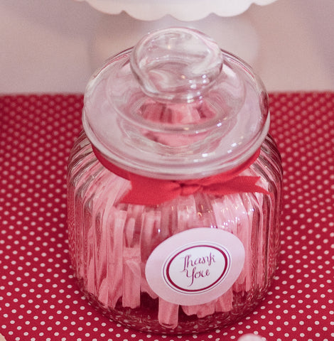 Round Small Lolly Jar