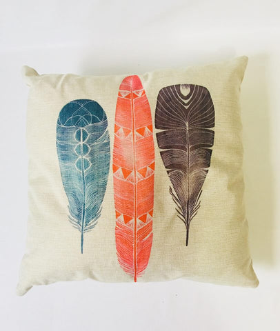 Feather Design Cushion
