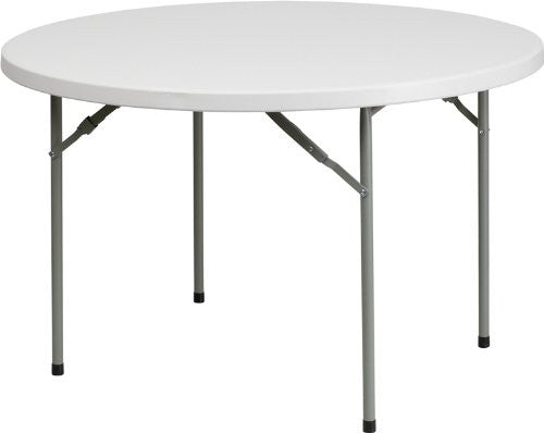 4 Feet Round Plastic Folding Table