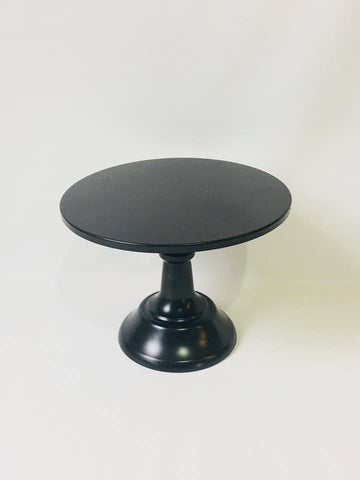 Small Black Cake Stand