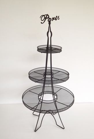 Paris 3 Tier Cake Stand