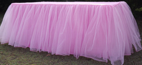 Tulle Gathered Tablecloth