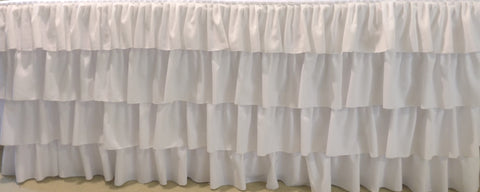 4 Ruffles Tablecloth
