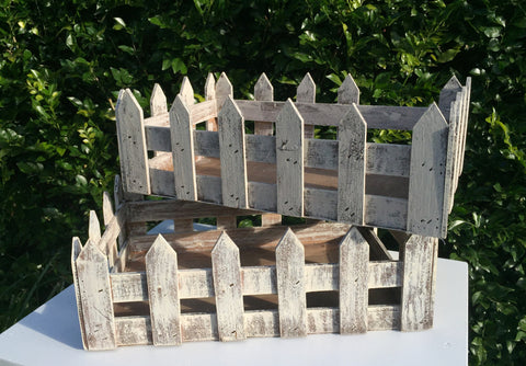 Wooden Fenced Boxes