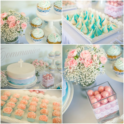 Styled Dessert and Candy Table