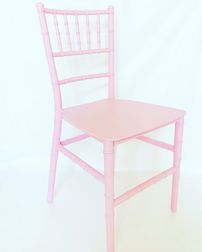 Pink Tiffany Kids Size Chair