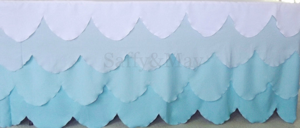 Scalloped Tablecloth