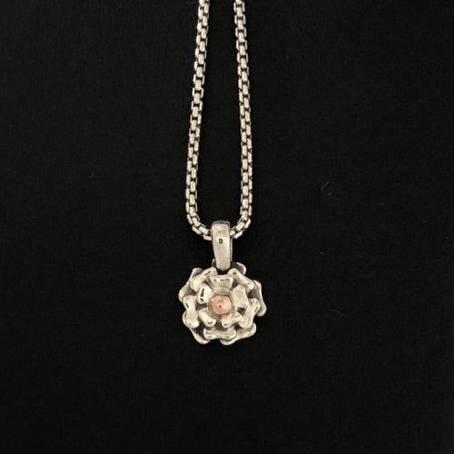14K & .925 Flower Blossom Necklace