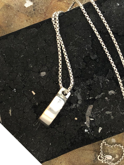 One Of A Kind, Box Pendant Necklace