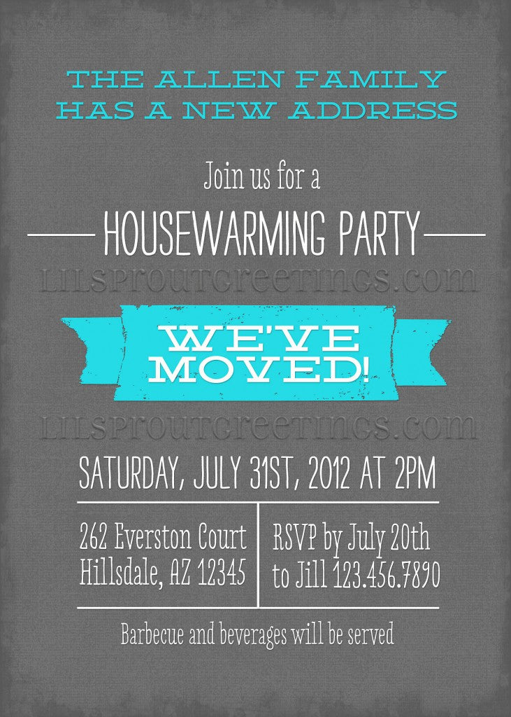 Lil Sprout Greetings Blog Tagged party – Housewarming Party Invitations Free