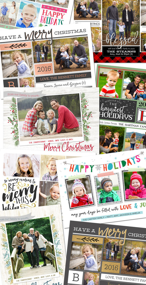 christmas card collection lilsproutgreetings