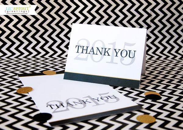 free class of 2015 printable thank you note | LilSproutGreetings.com