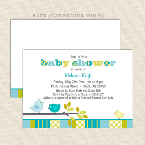 Boy Baby Shower Invitations Lil Sprout Greetings