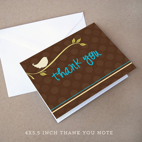 birdie boy thank you note