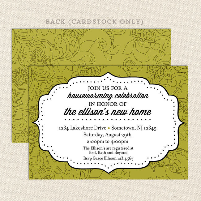 Across The Map Housewarming Invitations – Lil' Sprout Greetings