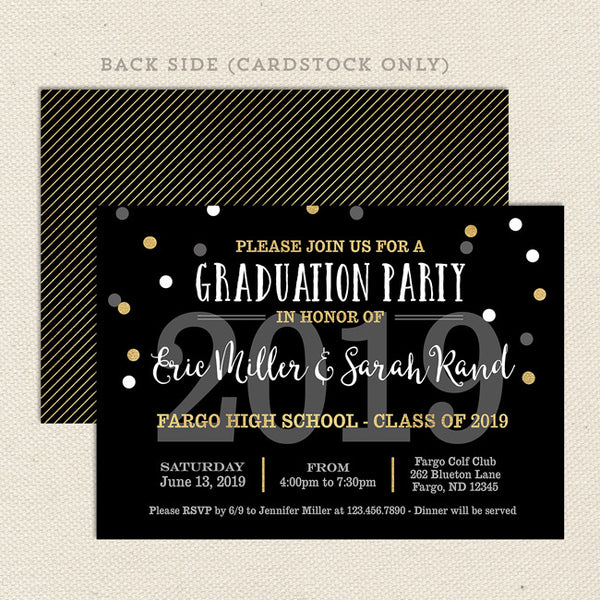 open house graduation party invitation