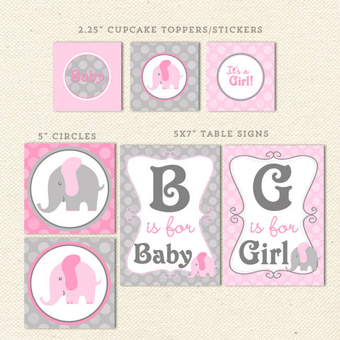 image relating to Free Printable Elephant Baby Shower titled Printable Little one Shower Decorations Lil Sprout Greetings