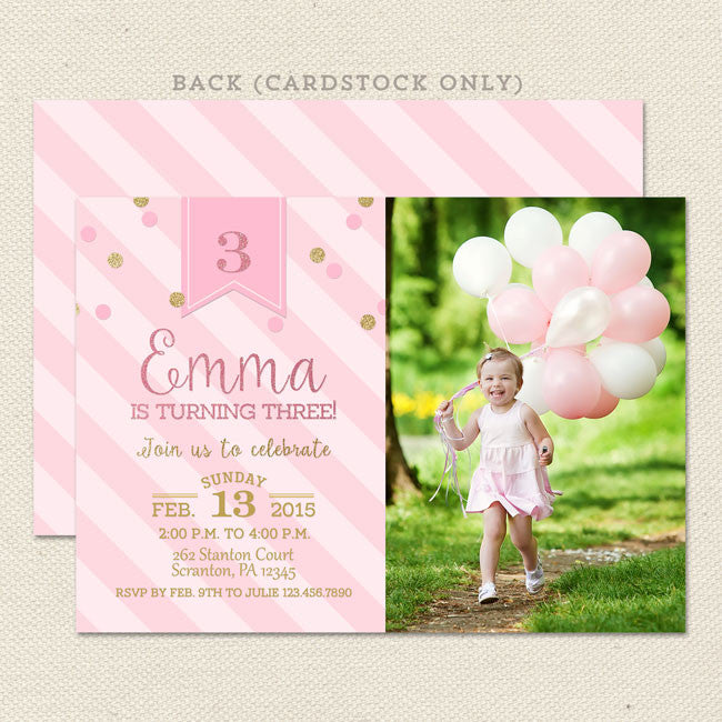 gold princess girl birthday invitations lil sprout greetings