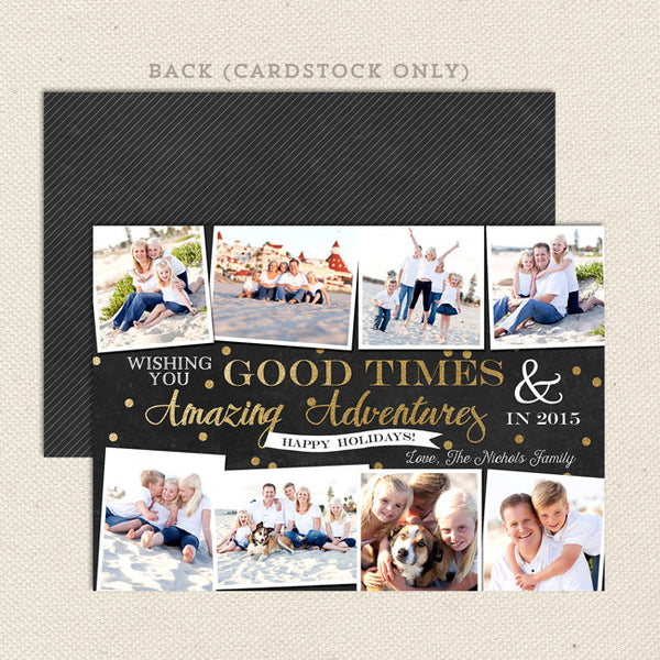 amazing adventures printable christmas card