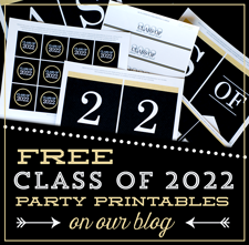 free class of 2018 graduation printables