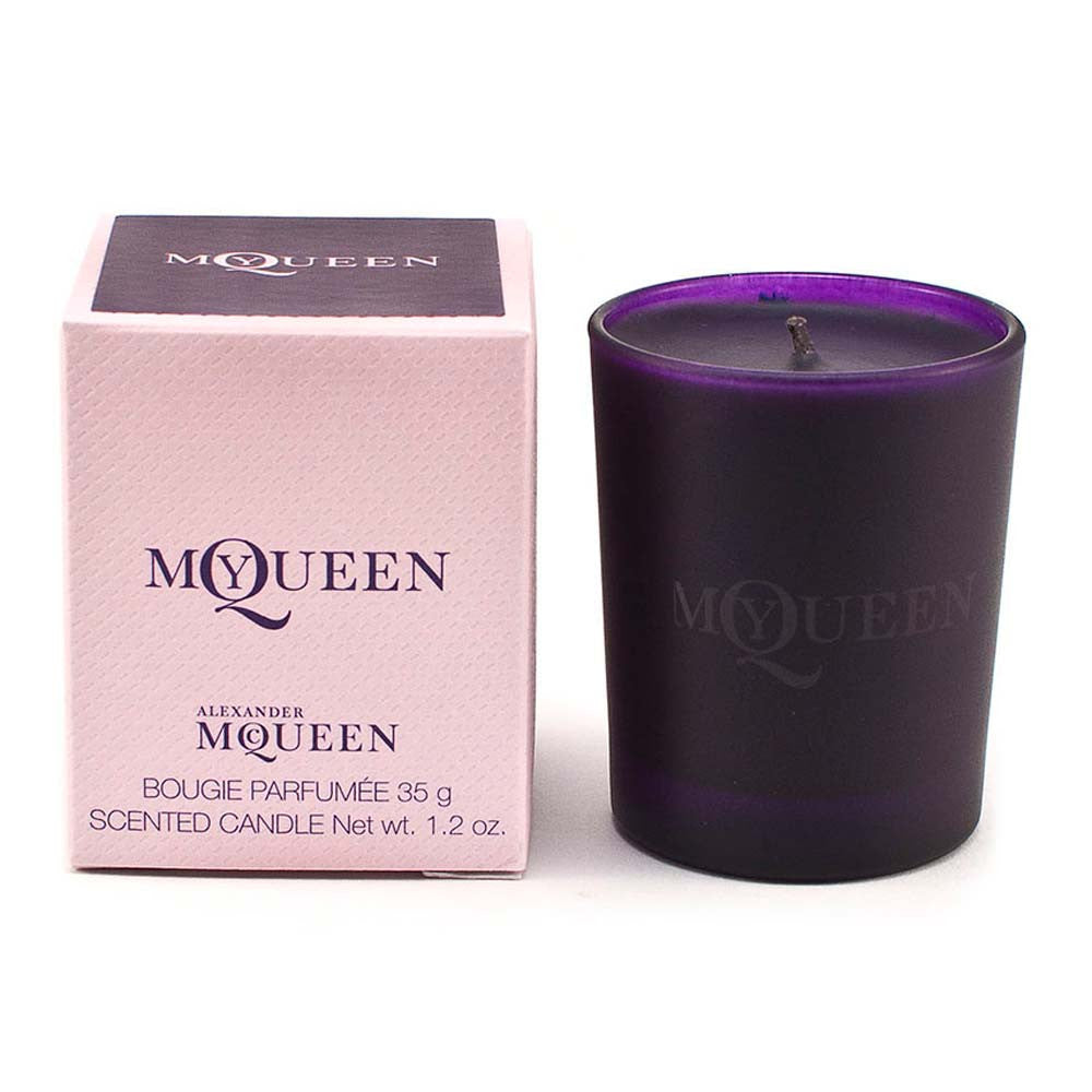 Alexander McQueen My Queen Scented Candle in Glass Holder 35g Mini