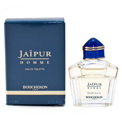 Damaged Box Boucheron Jaipur Homme Eau de Toilette 4.5ml Mini