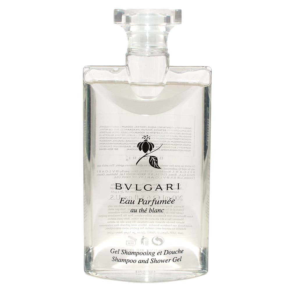 Bvlgari Eau Parfumee Au The Blanc Shampoo & Shower Gel 200ml