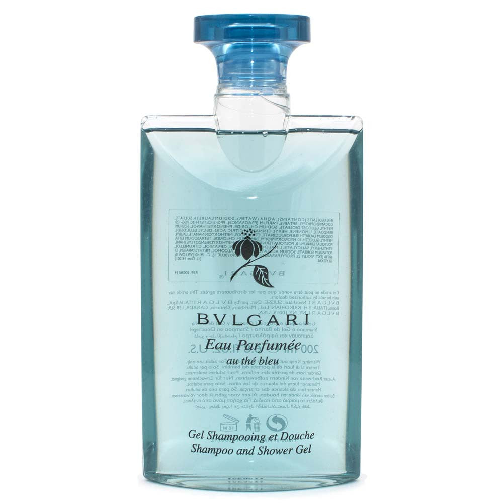 Bvlgari Eau Parfumee Au The Bleu Shampoo & Shower Gel 200ml