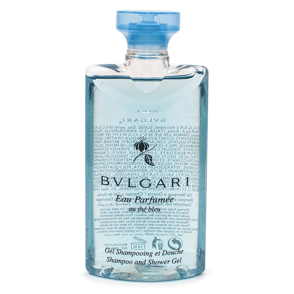 Bvlgari Eau Parfumee Au The Bleu Shampoo & Shower Gel 75ml