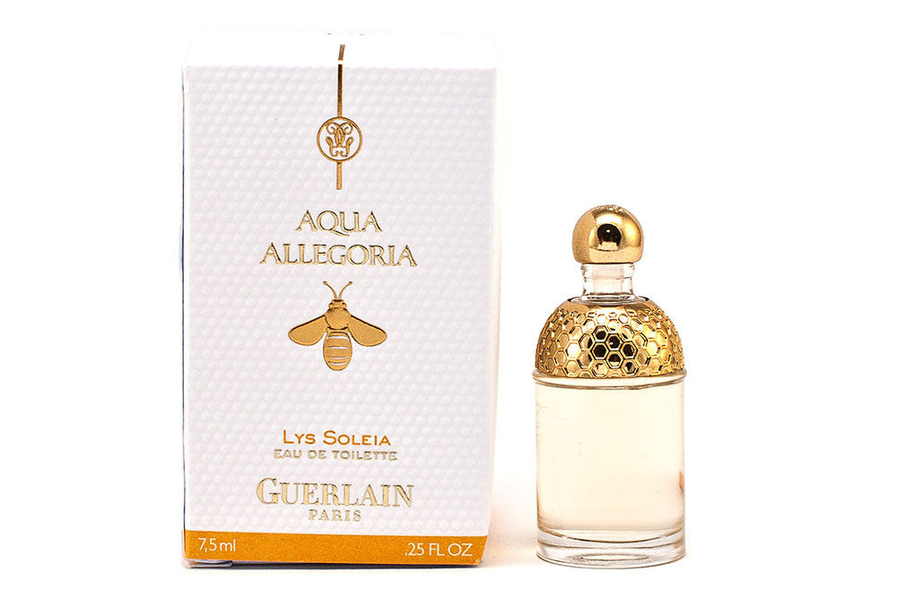 Damaged Box Guerlain Aqua Allegoria Lys Soleia Eau de Toilette 7.5ml Mini