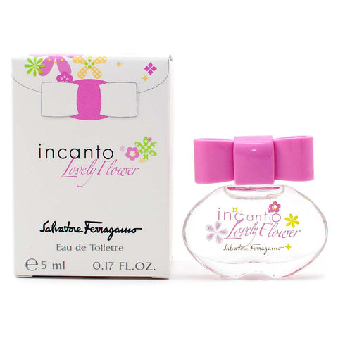 Salvatore Ferragamo Incanto Lovely Flower Eau de Toilette 5ml Mini