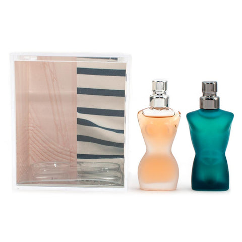 Jean Paul Gaultier Classique & Le Male Set Eau de Toilette 3.5ml Mini