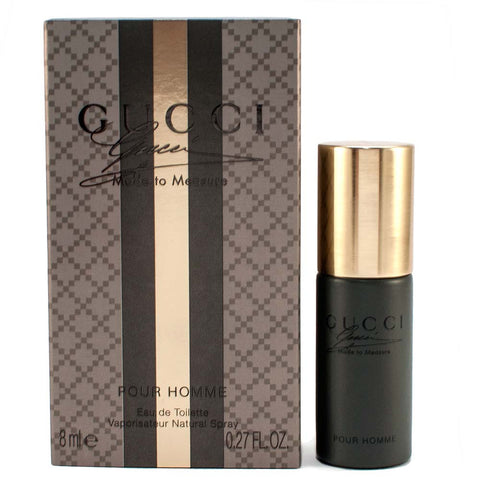 Damaged Box Gucci Made To Measure Pour Homme Eau de Toilette 8ml Mini