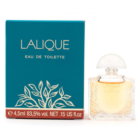 Damaged Old Vintage Lalique Lalique Eau de Toilette 4.5ml Mini