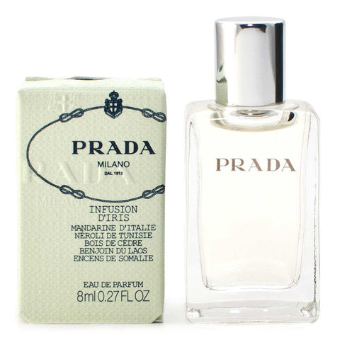Damaged Box Prada Infusion D'Iris Eau de Parfum 8ml Mini