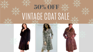 50% Off All Vintage Coats—Including Fur!